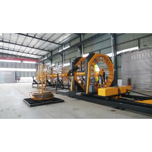 steel rebar cage making machine